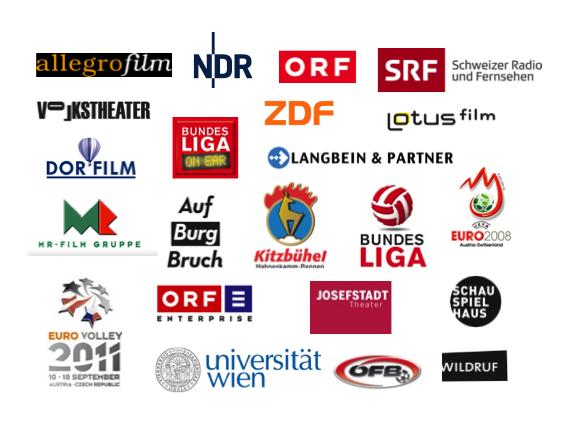 Logos von Projektpartnern